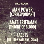 Join us at in the Bad Room at @goodroombk Saturday…