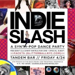 Come out to @tandembar this Friday for @indieslash! Our resident…
